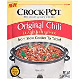 Crock Pot Seasoning Mix, Original Chili, 1.5 Ounce (Pack of 12)
