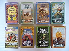 Redwall Series Books 1-8 (Redwall, Mossflower, Mattimeo, Marial of Redwall, Salamandastron, Martin the Warrior, The Bellma...