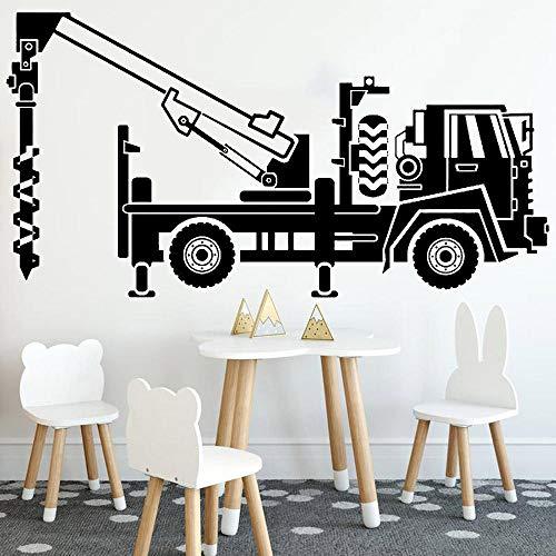 Lindo micrófono de música vinilo papel pintado muebles decorativos para la decoración de la habitación de los niños estilo nórdico decoración de la casa 58x72cm