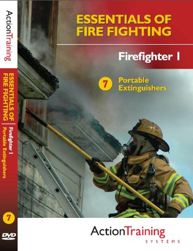 Essentials of Fire Fighting: Portable Extinguishers, Firefighter Training DVD