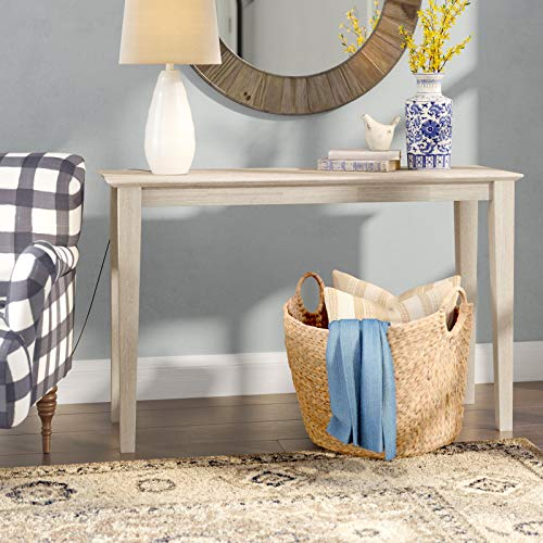 """Kaiser Solid Wood Console Table, Base Material: Solid Wood, Weight Capacity (30"""" H x 72"""" W x 16"""" D Size): 100 lb."""