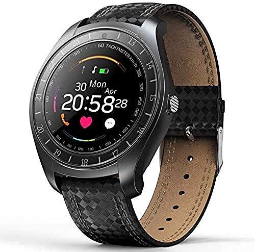 Reloj Inteligente Hombres Android Sim Cámara Impermeable Presión Arterial Ritmo Cardíaco Fitness Smartwatch Altavoz Bluetooth Reloj Deportivo-1