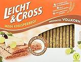 Leicht&Cross Vollkorn Knusperbrot, 8er Pack (8 x 125 g) -