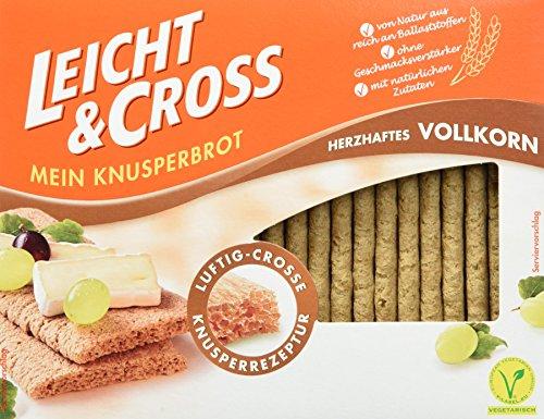 Leicht&Cross Vollkorn Knusperbrot, 8er Pack (8 x 125 g)