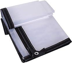 F-S-B afdekzeil, transparant, waterdicht, anti-aging, isolatiefolie, heavy duty, stofbescherming, regenbescherming, dekzei...