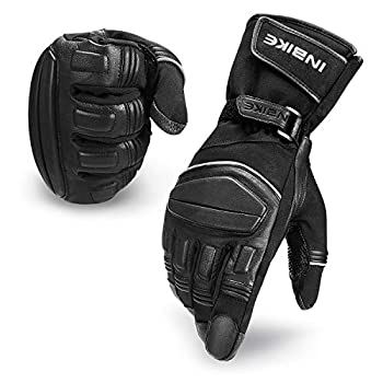 INBIKE Winter Motorcycle Gloves Men Waterproof Windproof Touch Screen for Motorbike Cycling Skiing Large
