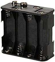 Mosuch Battery Holder for (8) AA with Standard Snap Connector : BH383 (1)