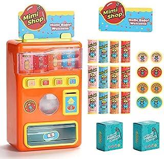 MOWA Vending Machine Toys Electronic Kids Toys Beverage Simulation Home Shopping Set Education Learning Play Drink Machine...