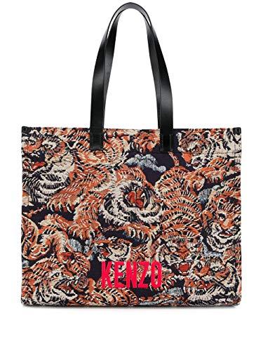 Luxury Fashion   Kenzo Woman F962SA510F04MU Multicolor Polyester Tote   Spring Summer 20