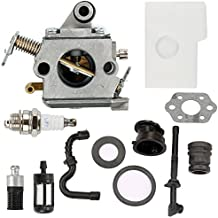 Harbot C1Q-S57A Carburetor for STIHL 017 018 MS 170 180 180C MS170 MS180 MS170C MS180C Chainsaw with Air Filter Tune Up Kit