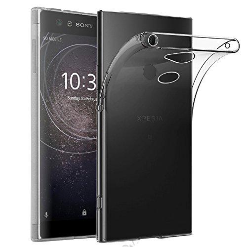 ebestStar - Cover Compatibile con Sony Xperia XA2, XA2 Dual (2018) Custodia Trasparente Silicone Gel TPU Protezione Morbida e Sottile, Trasparente [Apparecchio: 142 x 70 x 9.7mm, 5.2'']