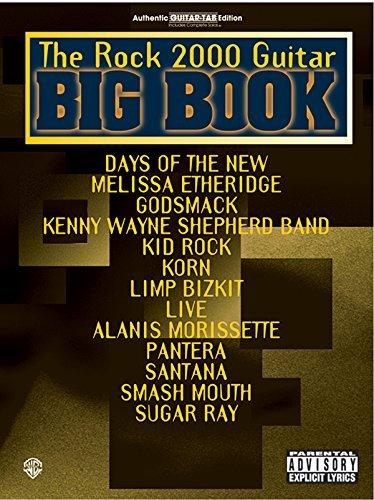 The Rock 2000 Guitar Big Book: Authentic Guitar TAB (Guitar Big Book Series) by Hal Leonard Corp. (2000-09-01)