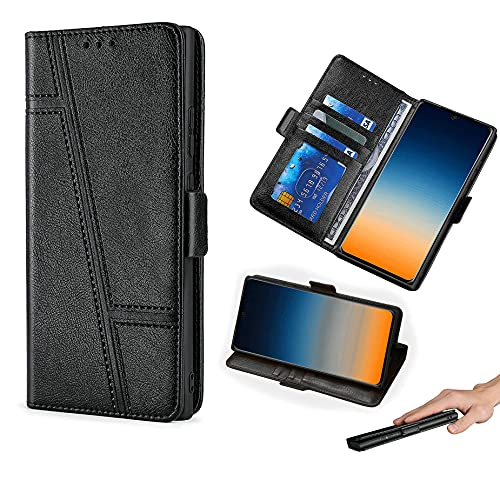 HUAYIJIE GKLTCK Flip Hülle Für Elephone S3 Lite Hülle Handyhülle Hülle Cover [schwarz]