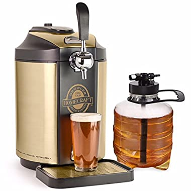 Nostalgia CBD5 Homecraft Kegerator On Tap Beer Growler Cooling System