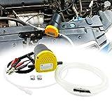 Froadp 60W Ölabsaugpumpe Dieselpumpe Kraftstoffpumpen Absaugpumpe 12V Ölpumpe für Öl und Diesel zum Auto & Motorrad Kraftstoffversorgung und Aufbereitung