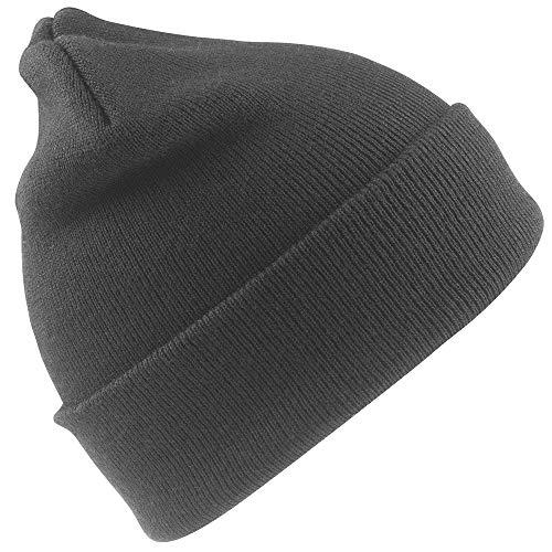 Result - Bonnet Thermique épais (Taille Unique) (Gris)