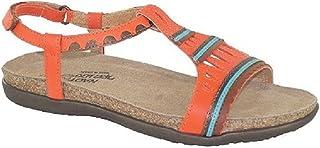 NAOT Footwear Women's Odelia Fashion Sandals, Orange (Orange Combo), 37 EU