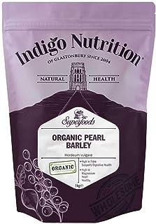 Indigo Herbs Cebada Perlada Orgánica 1kg