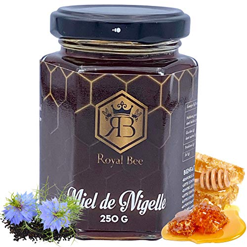 Miel de nigelle d Egypte 250 G + 1 cuillère en bois offerte