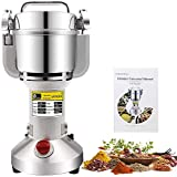 CGOLDENWALL 300g Electric Grain Grinder Mill Safety Upgraded Spice Herb Grinder Stainless Steel Pulverizer Super Fine Powder Machine For Dry Spice herbs grains coffee rice corn pepper 110V