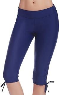 Allence Damen Badeshorts Kurze Badehose UV Schutz Shorts Strand Wassersport Boardshorts Schnell Trocknendes Schwimmhose Schwimmshorts