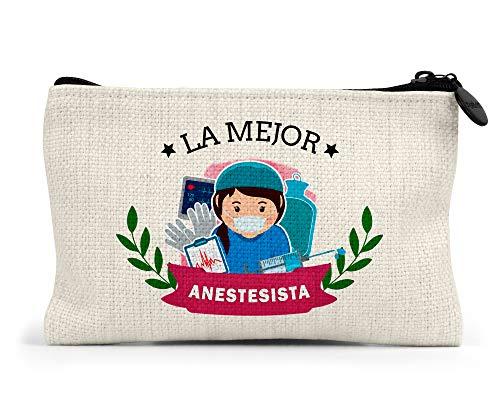 Monedero la Mejor anestesista del Mundo Regalo Original medicos Personalizado