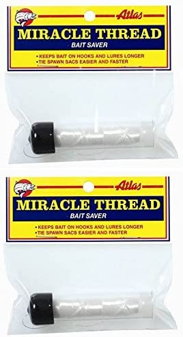 Atlas OFFicial mail order Miracle Ranking TOP9 Thread with Dispenser Bait Packs Wrap - 2