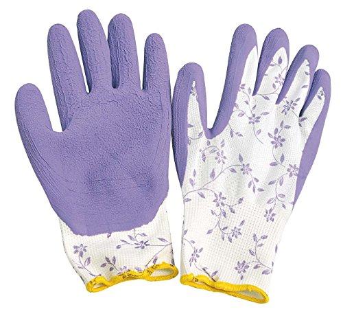 Verdemax 4918 Gant de Jardin avec revêtement Latex Violet Taille M