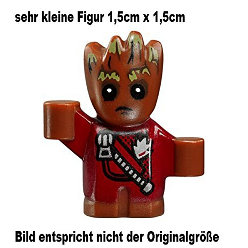 LEGO Guardians of the Galaxy Vol. 2 Minifigur Groot (very small Figur 1,5cm x 1,5cm) 76081