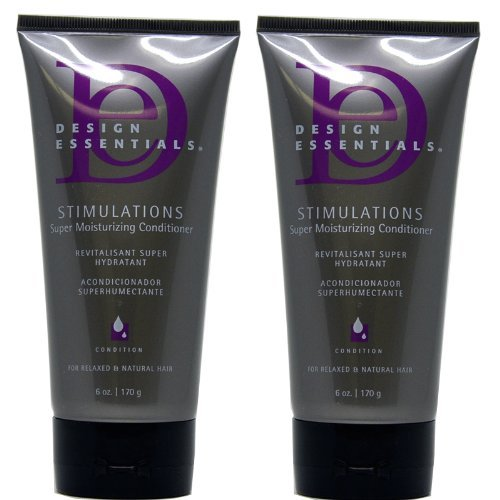 Design Essentials Stimulations Super Moisturizing Conditioner 6 OzPack of 2 (New Name: Rosemary & Mint Super Penetrating Super Moisturizing Deep Conditioner)