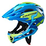 Cratoni C-Maniac Pro - Casco de ciclismo para bicicleta (bajo consumo, BMX, con mentonera, talla L-XL (58-61 cm), color...