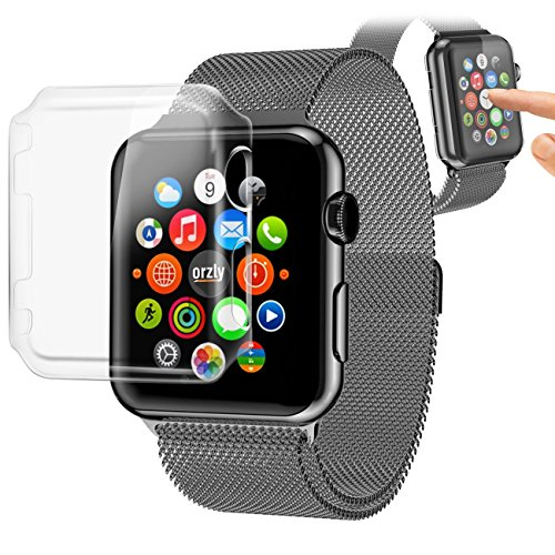Coque Rigide pour Apple Watch ORZLY® Invisicase - 42 mm