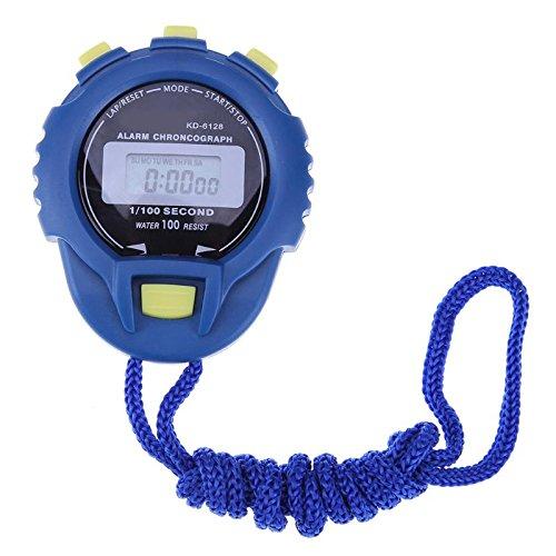 Xligo Classic - Cronógrafo digital con cronómetro y cronómetro, pantalla LCD, cronómetro, cronómetro, reloj despertador