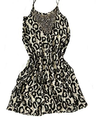 Mala Alisha SUMMER SALE strandjurk MIRELLA + embroidery black white ** maat 36/38 ** € 299 ** NIEUW