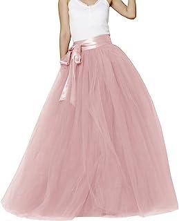 EllieHouse Womens Long Tutu Party Evening Tulle Skirt PC05