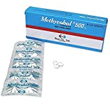 Methycobal 500 mcg tablets Mecobalamin (Packing 3 × 10's) Product of Eisai, Japan, Effective for Peripheral Nerve Supplement with Mecobalamin (B12) 500 mcg Oral 1 tab 3 Times a Day