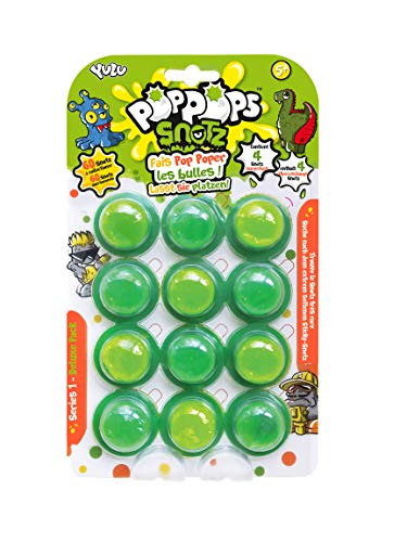 Pop Pops Snotz-12 pops with 4 Characters