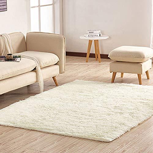 QIANJINGCQ Lungo in lana di seta tappeto di lana soggiorno rettangolare tavolino divano comodino tappeto camera da letto tappetini
