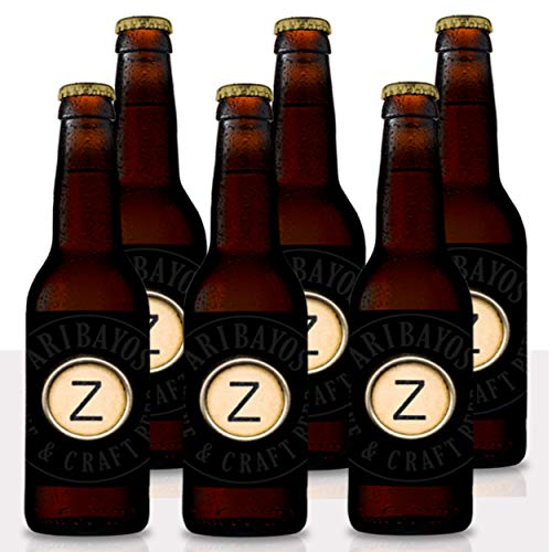 Cerveza Z-Abadía - Caja de 6 botellas de 33 cl. Cerveza Artesana Doble Belga