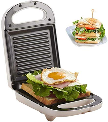 Mini-wafelijzer, tosti-ijzer, lichte ontbijtmachine, draagbaar met, automatische temperatuurregeling, geschikt voor Home Bakery Snack Bar