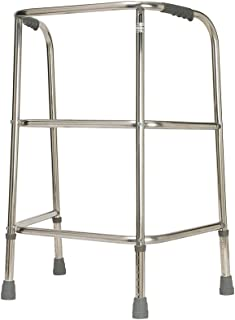 NRS Healthcare Heavy Duty Adjustable Walking Frame - Max User Weight 220 kg (35 stone)
