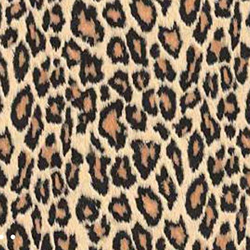 Klebefolie Möbelfolie Leopard 45 cm x 200 cm Dekorfolie Selbstklebefolie Animal Print