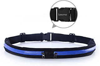 Running Belt Waist Pack Fanny Pack with 2 Expandable...