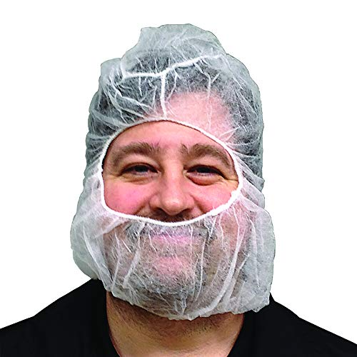 Full Beard Net with Hairnet