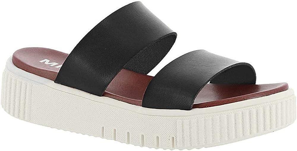 mia platform sandals black