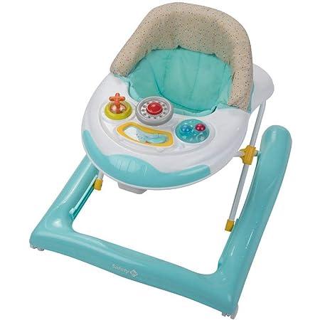Safety 1st Bolid Girello Bambino Primi Passi per Bambini da 6 Mesi a 12 kg, Piano Gioco con Musica e Gioco Elettronico, Regolabile in Altezza, Happy Day