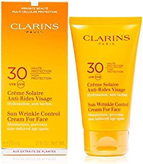 Clarins Sunscreen for Face Wrinkle Control Cream SPF 30
