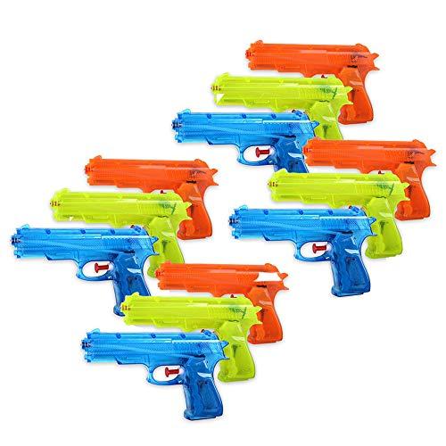 Schramm® 12 pièces Pistolet à Eau Classique ca....
