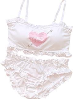 f06c2826550 YOMORIO Girls Cute Bra Panty Set Lolita Anime Cosplay Lingerie Kawaii  Japanese Underwear