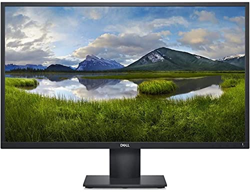 Dell Monitor E2720H - 27 Black, DELL-E2720H, Schwarz